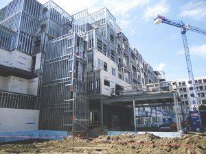 آپارتمان اداری مسکونی تا ۵ طبقه با سیستم lsf